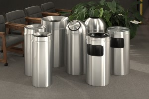 New Yorker Decorative and Designer Waste Receptacles by Glaro