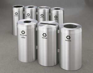 Increasing Distribution of Recycling Receptacles Can Help Improve Recycling Rates