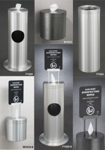 Glaro Inc Sani Wise Wipes Dispensers Wipes Waste Receptacles