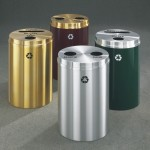 Glaro-Dual-Stream-Recycling-Receptacles