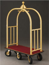 6 wheel bellman cart manufactured by glaro inc