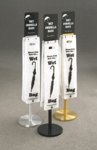Glaro wet umbrella bag stands group