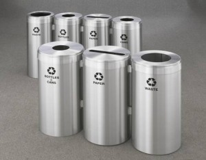 Glaro Recycling Container Stations