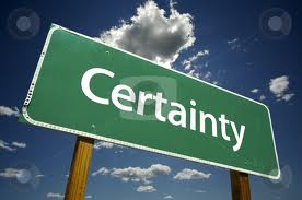 Count On Certainty from Glaro Inc.