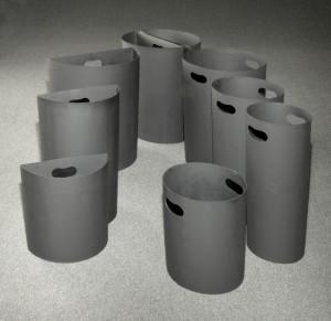 Glaro Inc. rigid plastic inner liners for receptacles